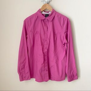 George pink- purple button down